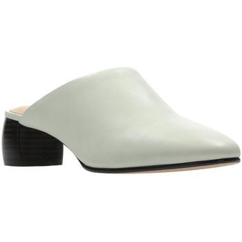 Pantofi Femei Saboti Clarks 26139384 Alb