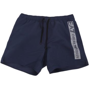 Îmbracaminte Bărbați Maiouri și Shorturi de baie Emporio Armani EA7 902000 0P732 Albastru