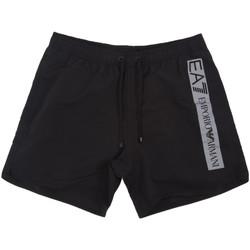 Îmbracaminte Bărbați Maiouri și Shorturi de baie Emporio Armani EA7 902000 0P732 Negru