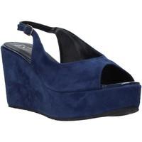 Pantofi Femei Sandale  Esther Collezioni ZC 042 Albastru