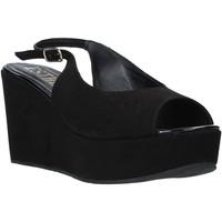 Pantofi Femei Sandale  Esther Collezioni ZC 042 Negru