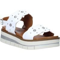 Pantofi Femei Sandale  Grunland SA2545 Alb