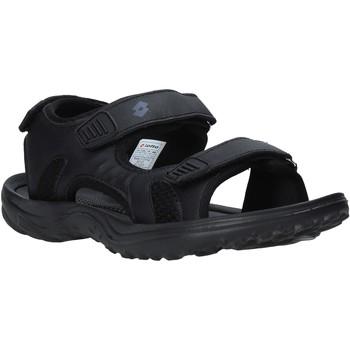 Pantofi Bărbați Sandale sport Lotto L52291 Negru