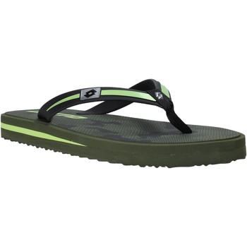 Pantofi Bărbați  Flip-Flops Lotto L58324 Verde