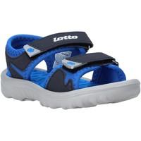 Pantofi Copii Sandale  Lotto L55098 Albastru