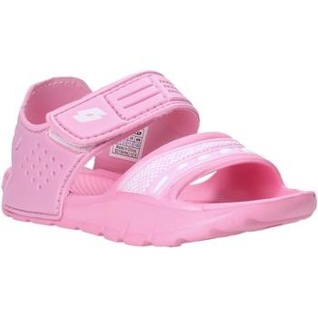 Pantofi Fete Sandale  Lotto L52298 Roz