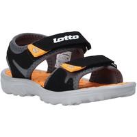 Pantofi Copii Sandale  Lotto L55098 Negru