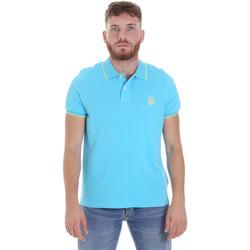 Îmbracaminte Bărbați Tricou Polo mânecă scurtă U.S Polo Assn. 58561 41029 Albastru