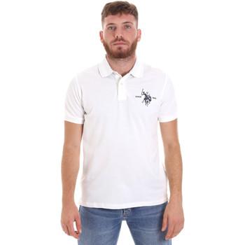 Îmbracaminte Bărbați Tricou Polo mânecă scurtă U.S Polo Assn. 55959 41029 Alb