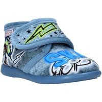 Pantofi Copii Papuci de casă Grunland PA0628 Albastru