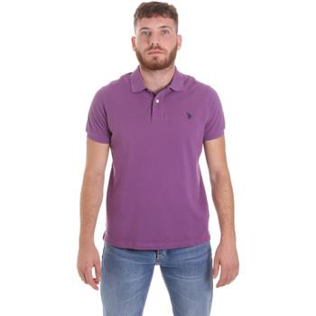Îmbracaminte Bărbați Tricou Polo mânecă scurtă U.S Polo Assn. 55957 41029 Violet