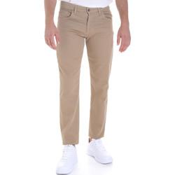 Îmbracaminte Bărbați Pantalon 5 buzunare Les Copains 9U3022 Bej