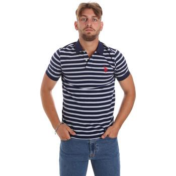 Îmbracaminte Bărbați Tricou Polo mânecă scurtă U.S Polo Assn. 56336 52802 Albastru