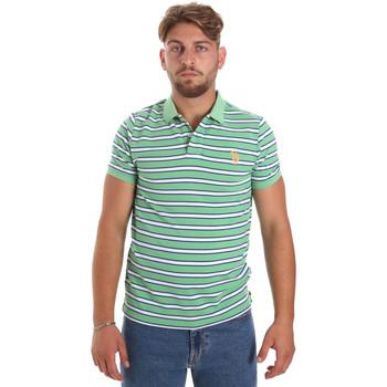 Îmbracaminte Bărbați Tricou Polo mânecă scurtă U.S Polo Assn. 56336 52802 Verde