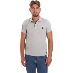 Îmbracaminte Bărbați Tricou Polo mânecă scurtă U.S Polo Assn. 55985 41029 Gri