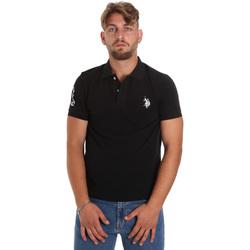 Îmbracaminte Bărbați Tricou Polo mânecă scurtă U.S Polo Assn. 55985 41029 Negru