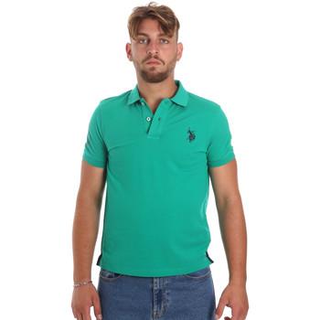 Îmbracaminte Bărbați Tricou Polo mânecă scurtă U.S Polo Assn. 55985 41029 Verde
