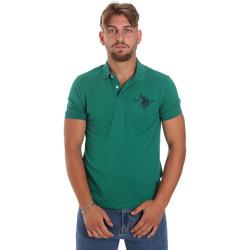 Îmbracaminte Bărbați Tricou Polo mânecă scurtă U.S Polo Assn. 55959 41029 Verde