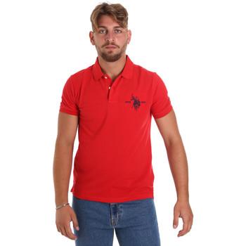 Îmbracaminte Bărbați Tricou Polo mânecă scurtă U.S Polo Assn. 55959 41029 Roșu