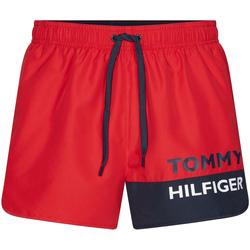 Îmbracaminte Bărbați Maiouri și Shorturi de baie Tommy Hilfiger UM0UM01683 Roșu