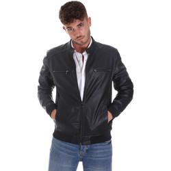 Îmbracaminte Bărbați Jachete din piele și material sintetic Sseinse GBE574SS Albastru