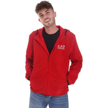 Îmbracaminte Bărbați Bluze îmbrăcăminte sport  Ea7 Emporio Armani 8NPB04 PNN7Z Roșu