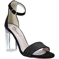 Pantofi Femei Sandale  Grace Shoes 018TR003 Negru