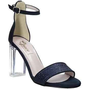 Pantofi Femei Sandale  Grace Shoes 018TR003 Albastru