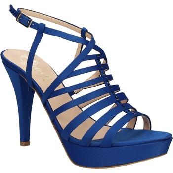 Pantofi Femei Sandale  Grace Shoes 2078 Albastru