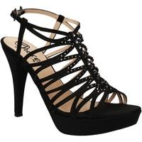 Pantofi Femei Sandale  Grace Shoes 3023 Negru