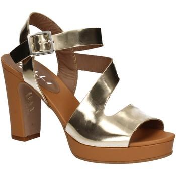 Pantofi Femei Sandale  Mally 5180 Aur