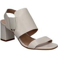 Pantofi Femei Sandale  Mally 5228 Alb