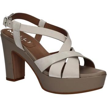 Pantofi Femei Sandale  Mally 5744 Argint