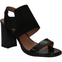Pantofi Femei Sandale  Mally 5228 Negru