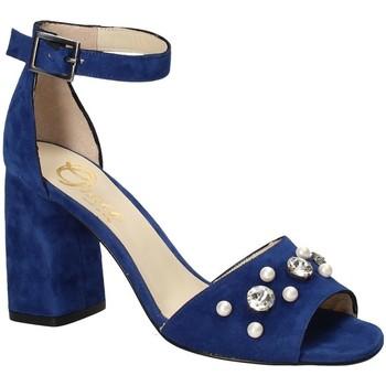 Pantofi Femei Sandale  Grace Shoes 536 Albastru