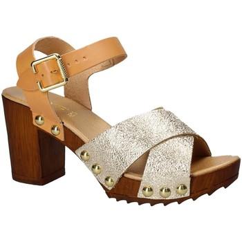 Pantofi Femei Sandale  Keys 5864 Galben