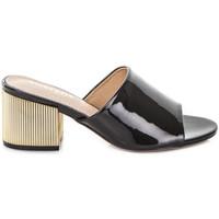 Pantofi Femei Papuci de vară Gold&gold A19 GJ113 Negru