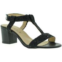 Pantofi Femei Sandale  Mally 3895 Negru