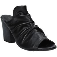 Pantofi Femei Papuci de vară Pregunta PF3286 Negru