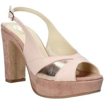 Pantofi Femei Sandale  Grace Shoes JN 093 Roz