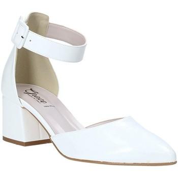 Pantofi Femei Sandale  Grace Shoes 774005 Alb
