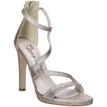 Pantofi Femei Sandale  Grace Shoes 2383003 Bej