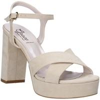 Pantofi Femei Sandale  Grace Shoes 492PL003 Bej