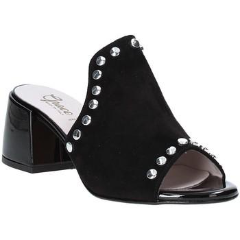 Pantofi Femei Papuci de vară Grace Shoes 1576006 Negru