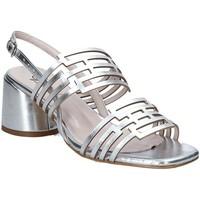 Pantofi Femei Sandale  Grace Shoes 123001 Argint