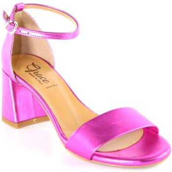 Pantofi Femei Sandale  Grace Shoes 380008 Roz