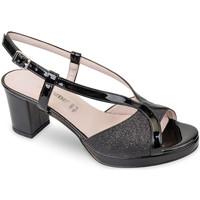 Pantofi Femei Sandale  Valleverde 45373 Negru
