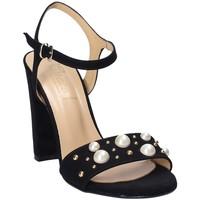 Pantofi Femei Sandale  Grace Shoes 1396 Negru