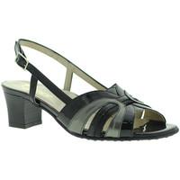 Pantofi Femei Sandale  Grace Shoes E5080T Negru