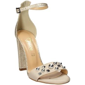Pantofi Femei Sandale  Grace Shoes 1467 Roz